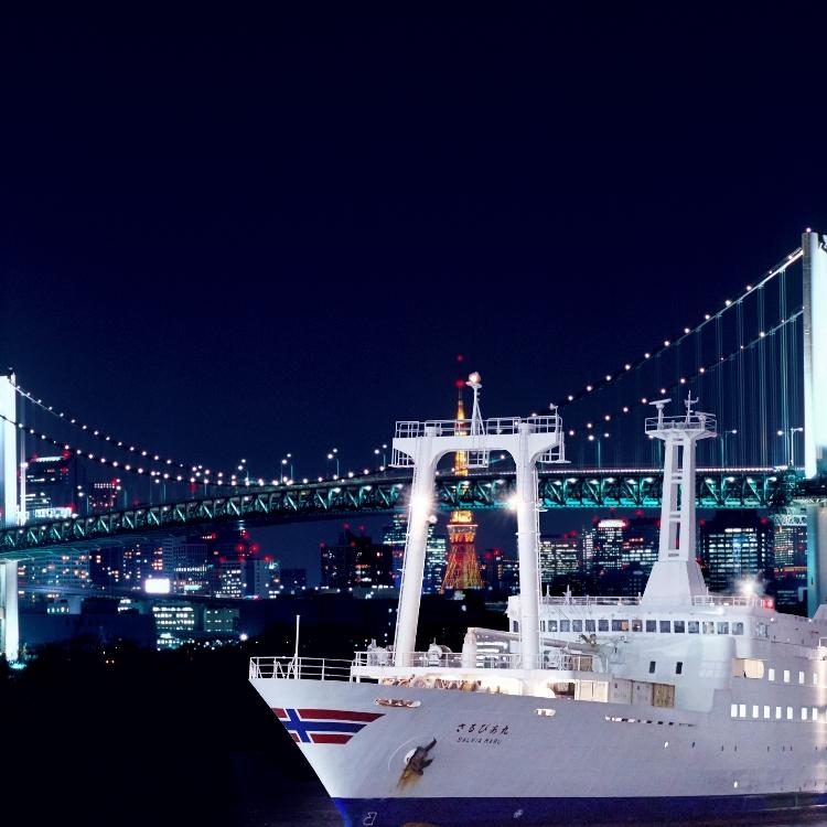 Tokyo bay night view cruise✨