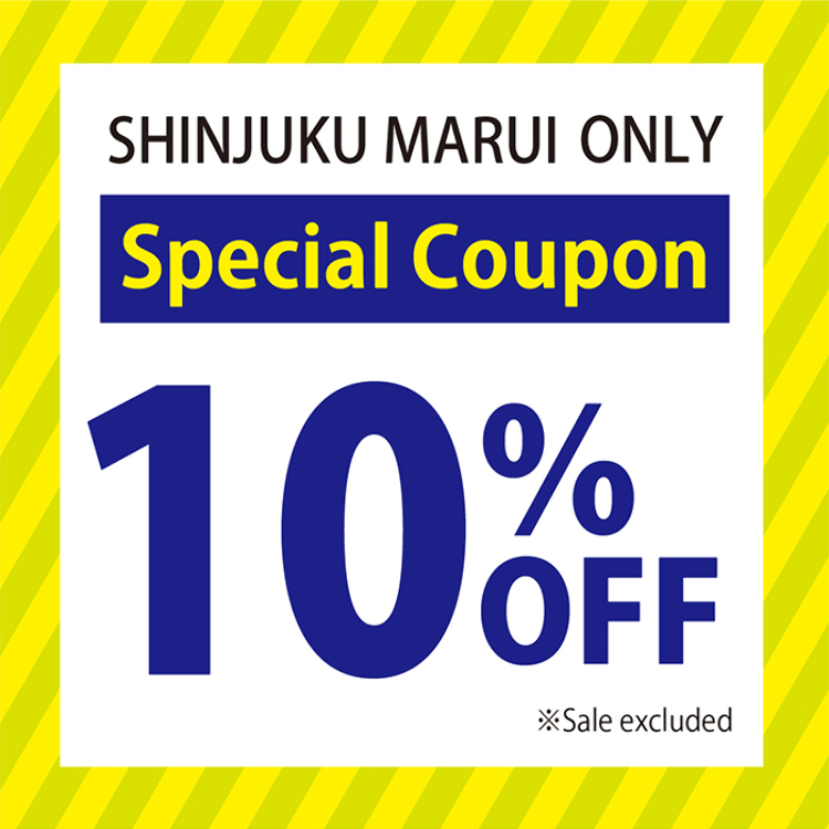 SPECIAL COUPON 10%OFF!!