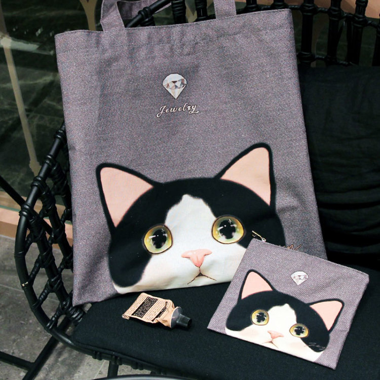 Tote Bag & mini Pouch Now on sale