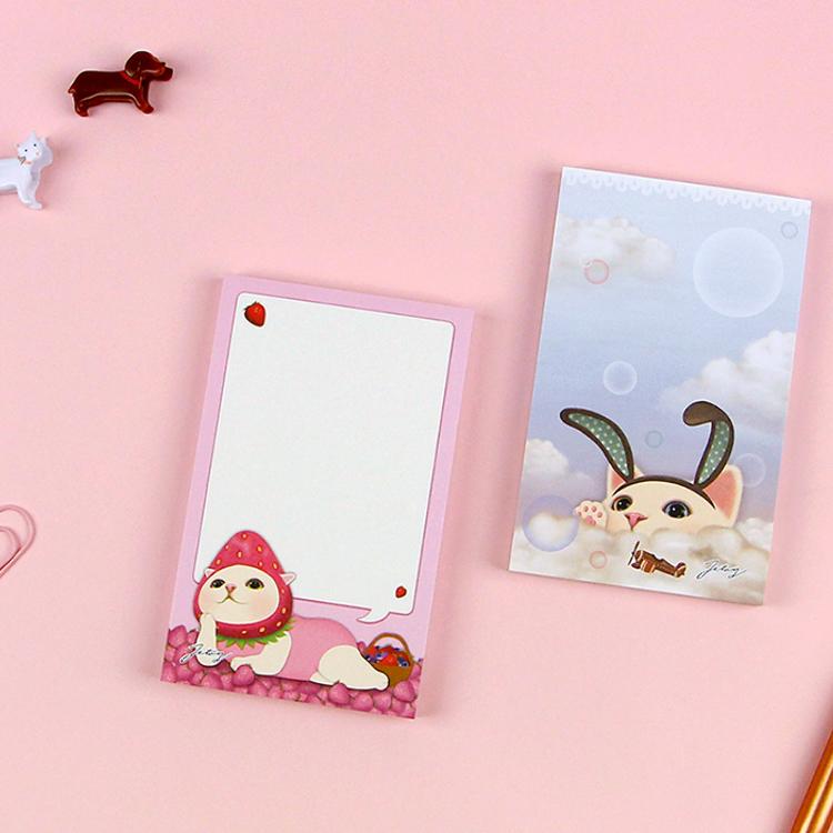 Memo pad now on sale