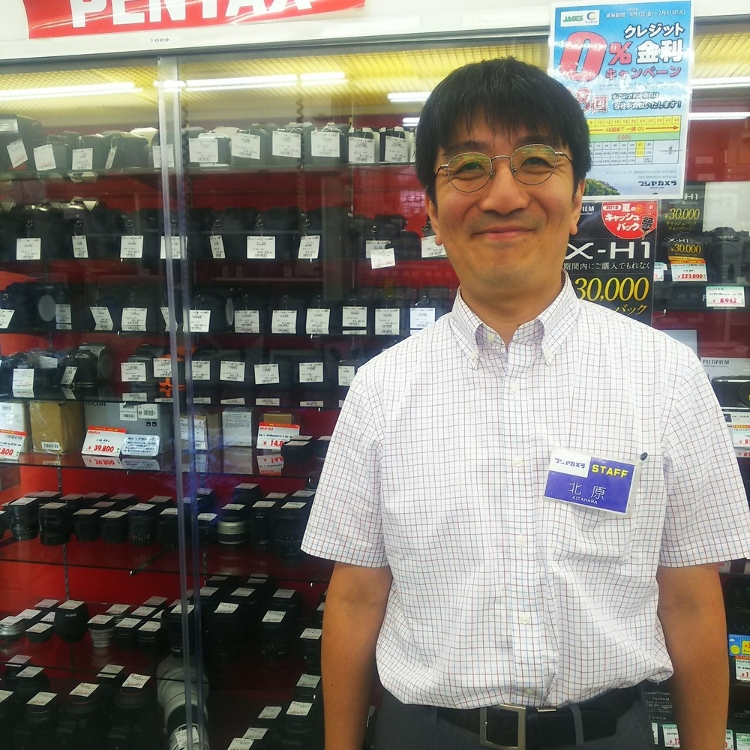 The clerk who have a wide variety of knowledge support your shoppinng kindly.