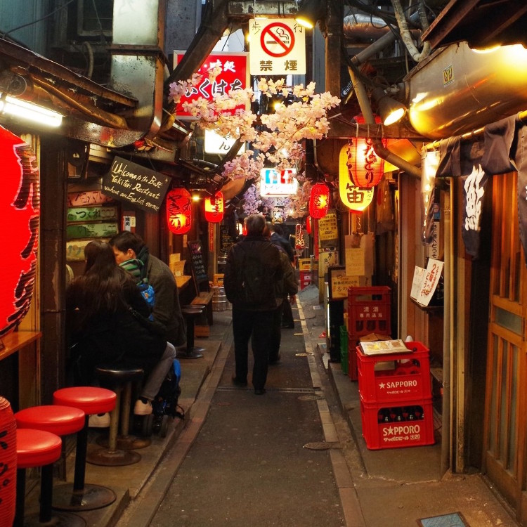 Tokyo Bar Hopping Night Tour at Japanese Local Pubs in Shinjuku