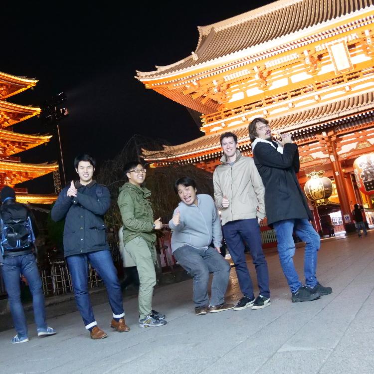 Asakusa Bar Hopping - Guided Food Night Tour in Tokyo
