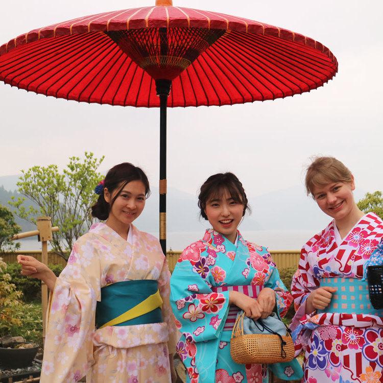 着物を着て、箱根観光しませんか?