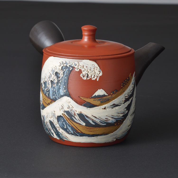 Tokoname teapot  exhibition held!