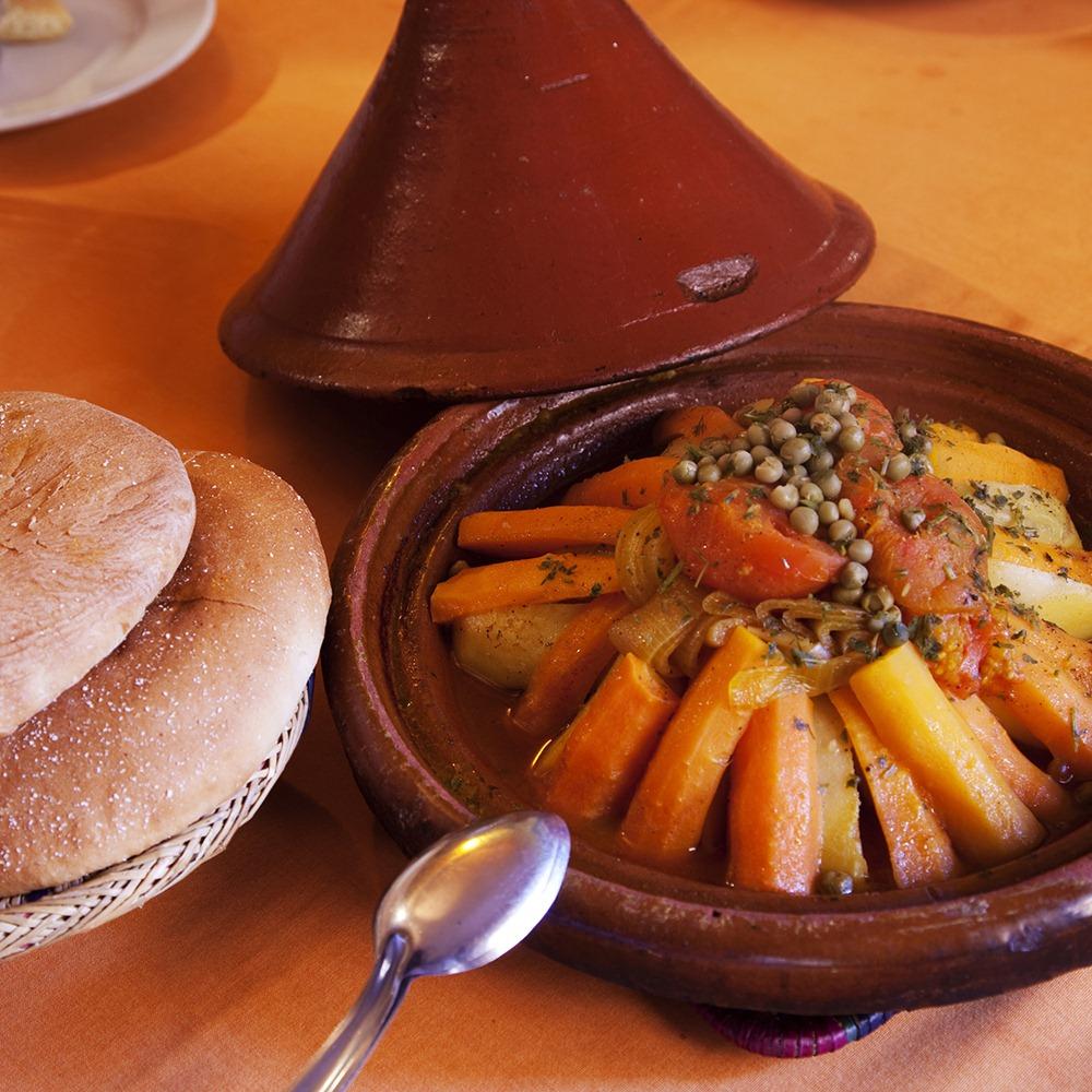 Maroko Makanan