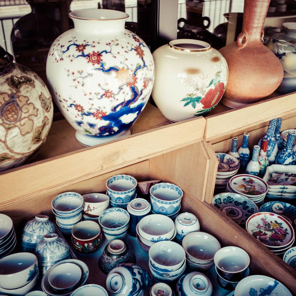 古美術、古董專賣店