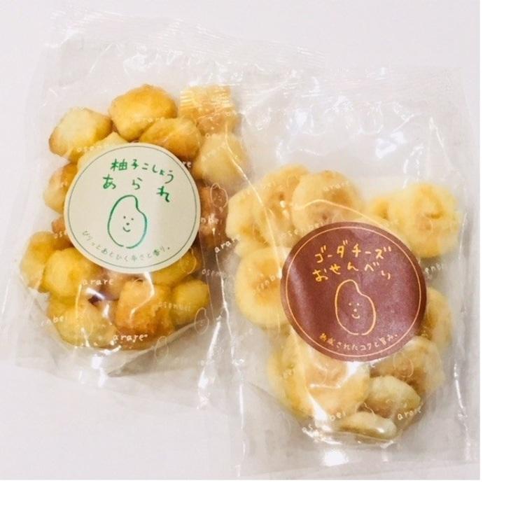 D&eacute;tour &agrave; Bleuet(Accessory, Goods, Caf&eacute;)<br /> D&eacute;tour &agrave; Bleuet original rice cracker<br /> <br /> original rice cracker is Collaborative Products.<br /> It is a rice cracker of sweet taste.<br /> Please use it as a souvenir of the Japan.