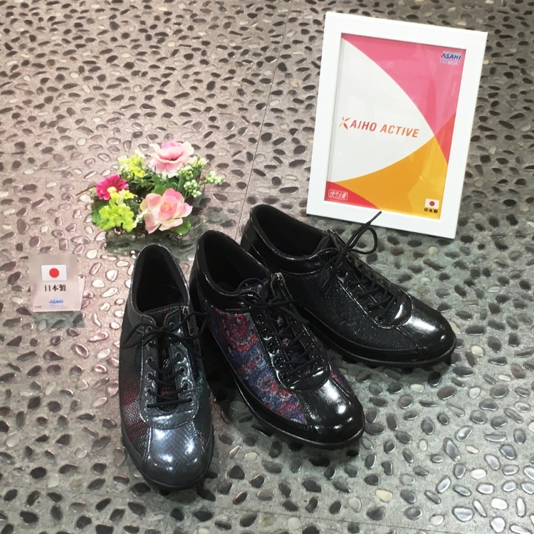 KAIHO ACTIVE 漫步鞋/與醫生共同合作,依照腳的構造、走路型態所開發製作,並且特別講究於日本製的品質,是穿起來倍感舒適的漫步鞋。色彩搭配也極為時尚。