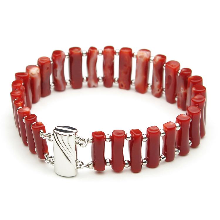 Made in Japan oxblood bracelet