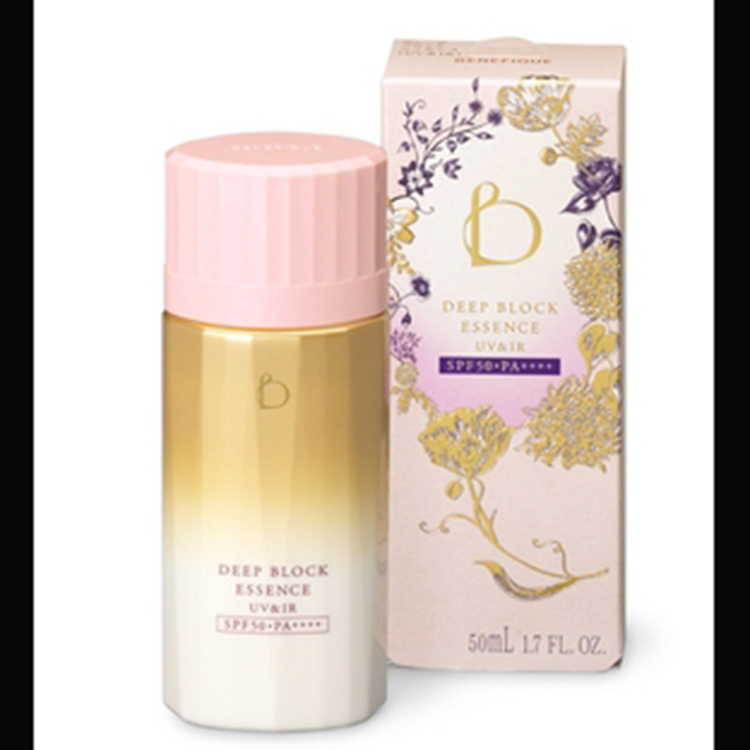 BENEFIQUE DEEP BLOCK ESSENCE(UV&IR)/SHISEIDO's daytime beauty lotion(only available in Japan)