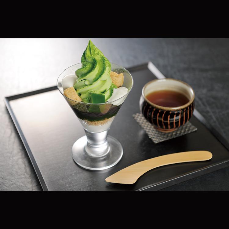 中嶋农法  抹茶芭菲冰激凌  赠送焙茶