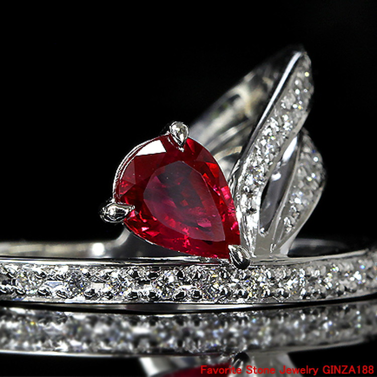 1.02 ct ruby ring