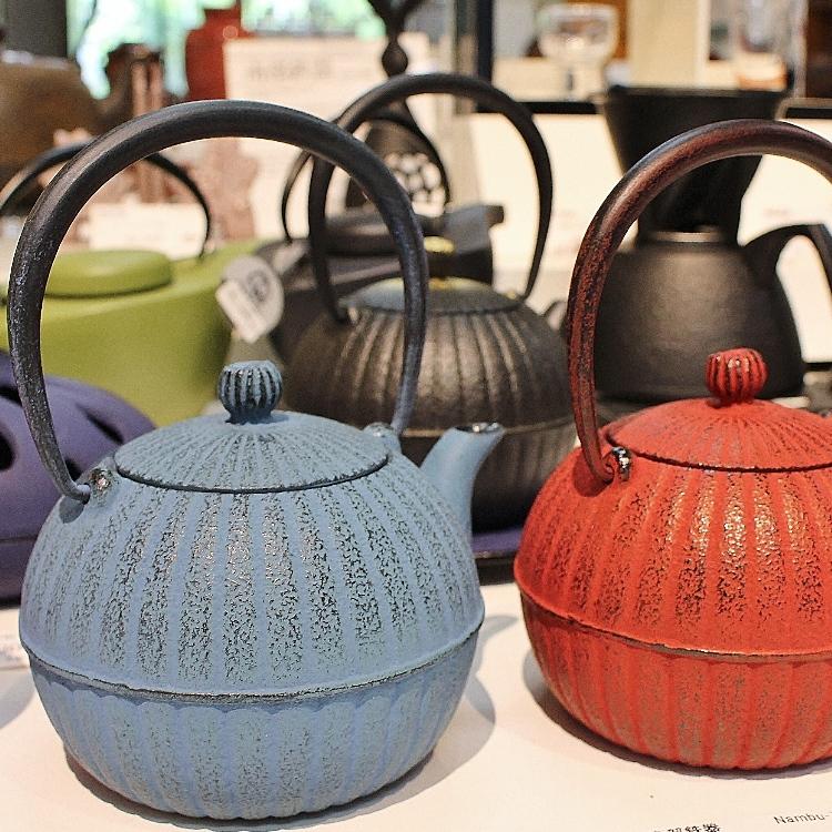 Nanbu ironware  teapot
