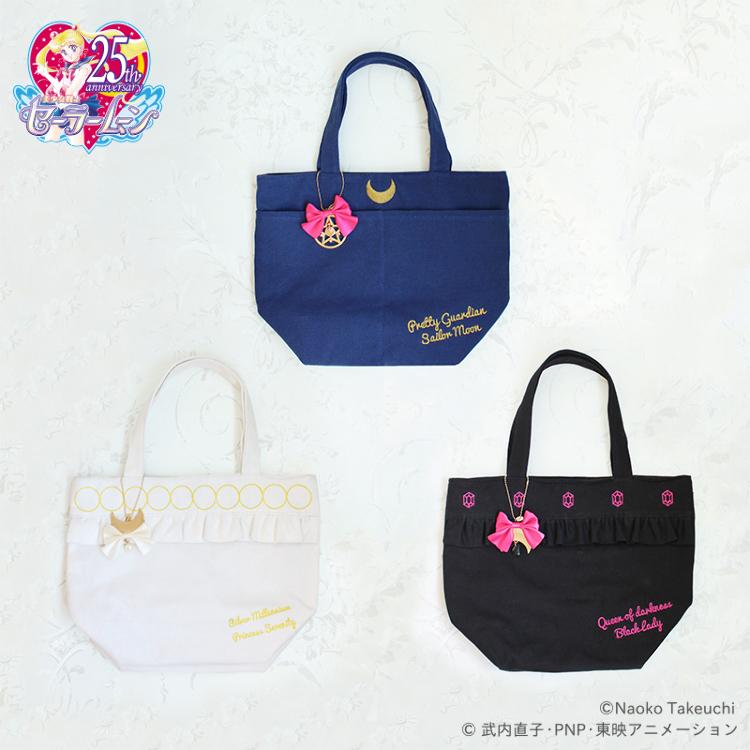 「Pretty Guardian Sailor Moon」Collaboration goods (Vol.2) Canvas Launch Tote Bag