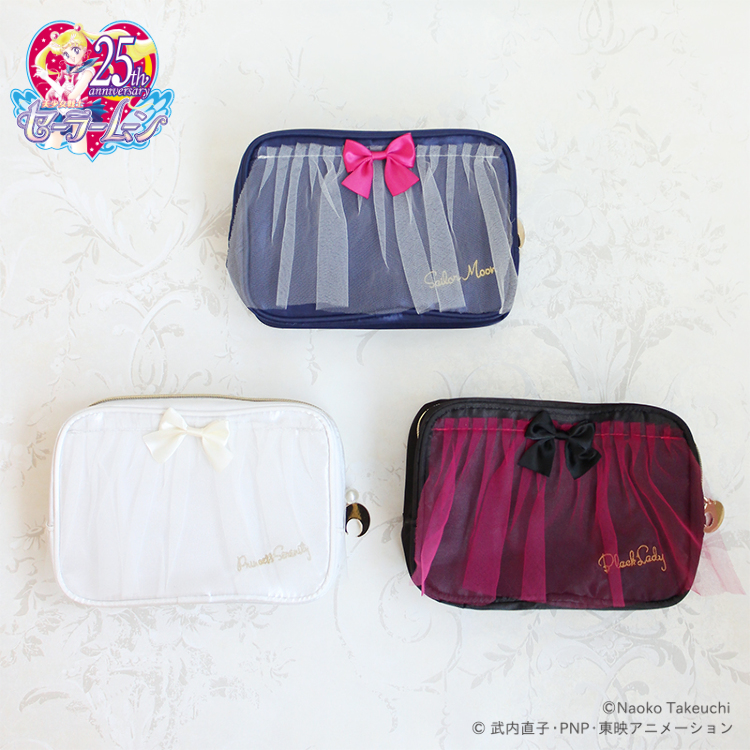 「Pretty Guardian Sailor Moon」Collaboration goods (Vol.2) Tulle Dress Cosmetics Pouch