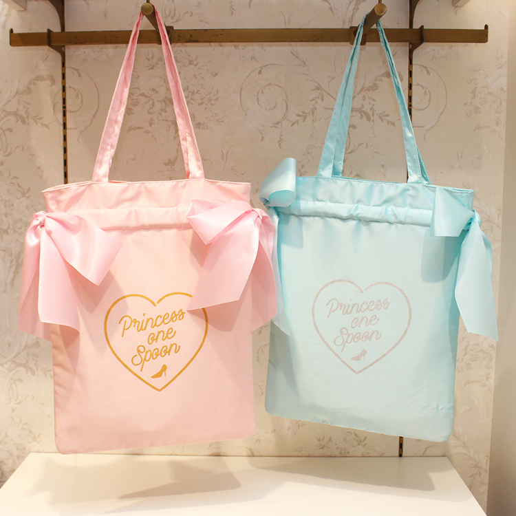 Satin Ribbon Tote Bag