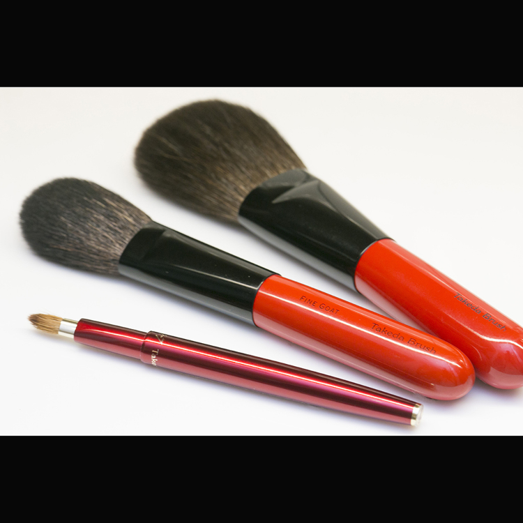 "Takeda Brush's Basic ""Tsubaki"" starter set"