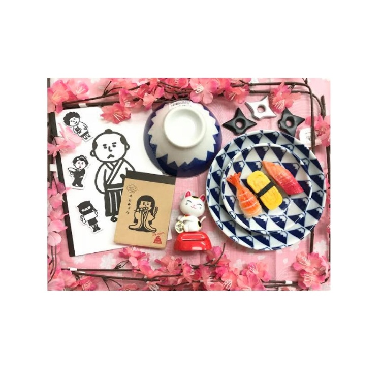 Note Pads, Plates, Rice Bowls, Magnets, and Others<br /> <8F Can Do><br /> 108JPY each