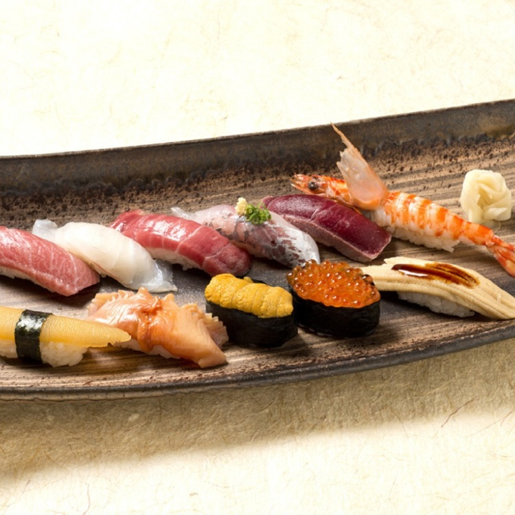 &ldquo;Tsukiji Tama Sushi&ldquo; (Edo-style Sushi)<br />