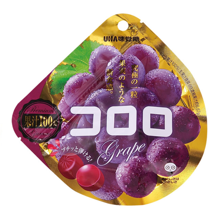 UHA Mikakuto CORORO Grape Gummy (40g)