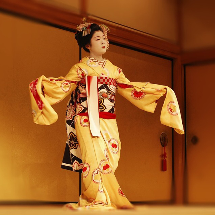 [Traditional performance]Feast on traditional Japanese dance, Noh play, and Bunraku.