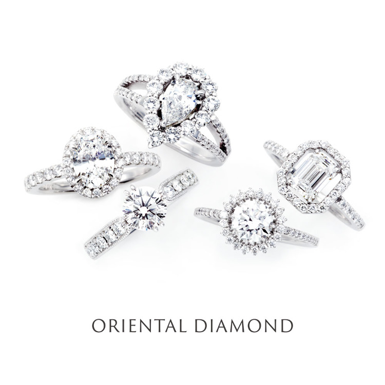 Oriental Diamond's original jewelry