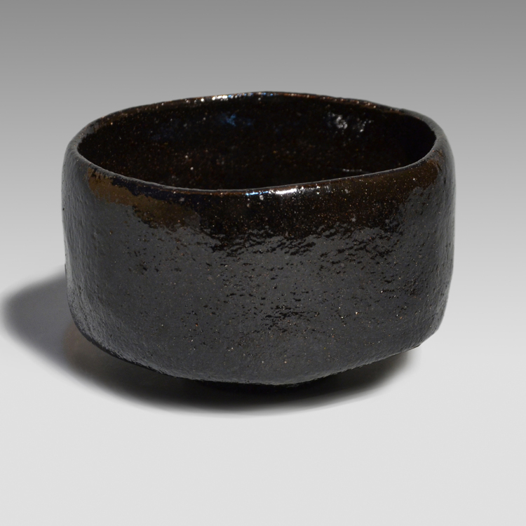 Kuro Chawan (made by Ohi Chozaemon IX)