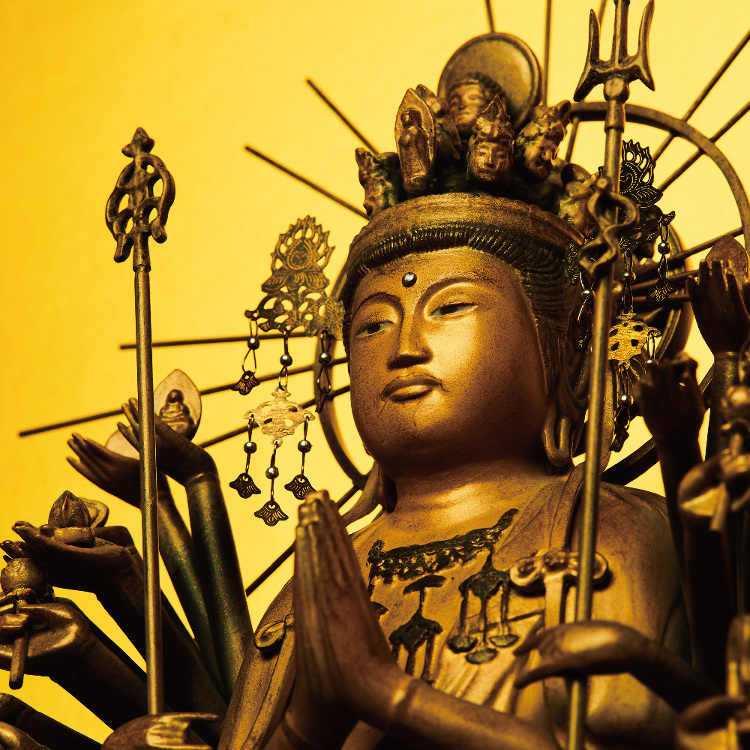 Isumu Thousand-armed Kannon -Kei School-