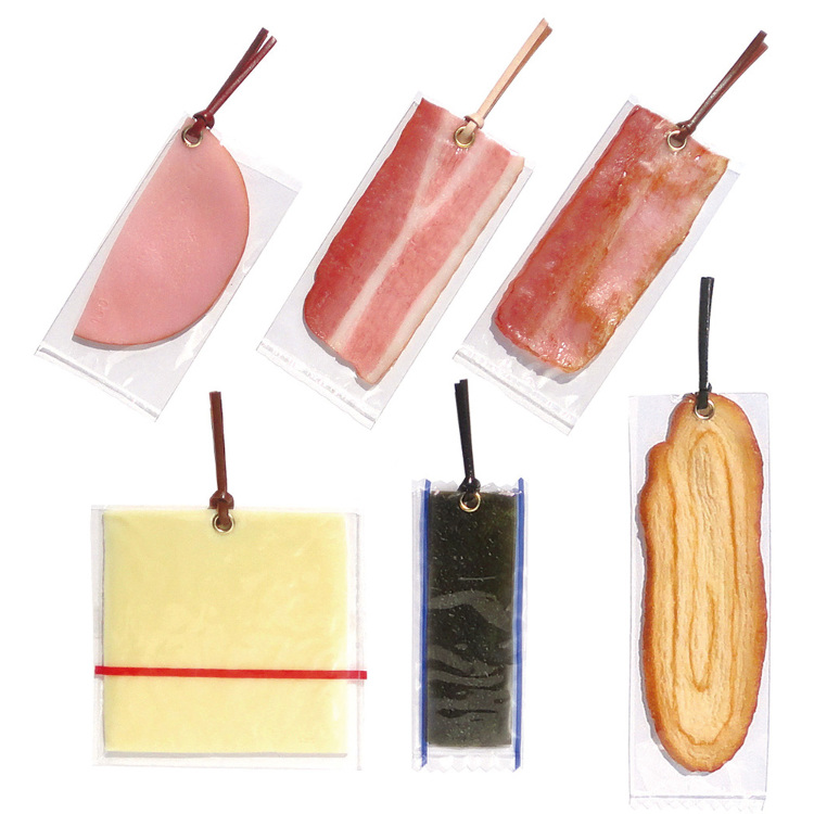 Replica Food Bookmarks