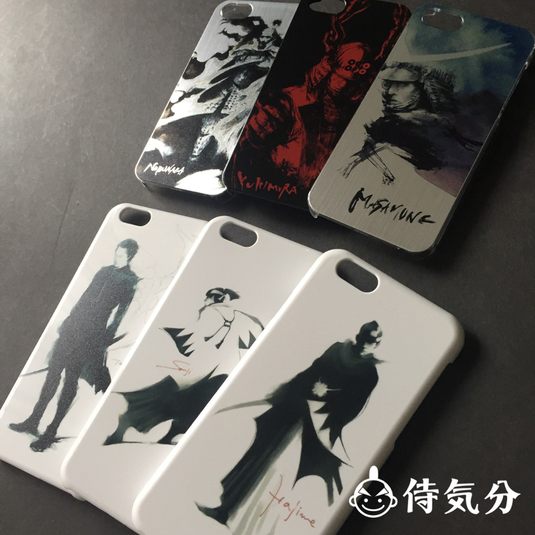 Variety of iPhone Case with Samurai design