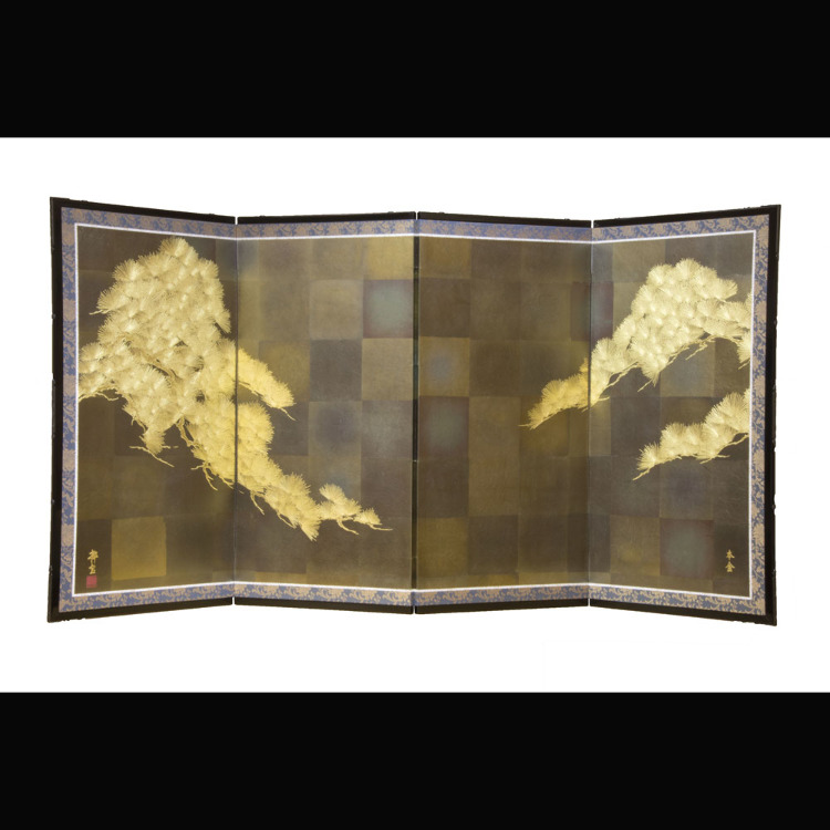Gold Leaf Byoubu<br />