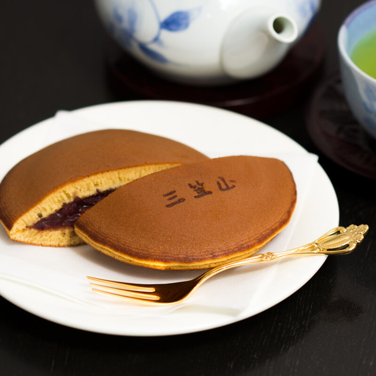 Hand Made Mikasayama(two small pancakes with bean jam in between)