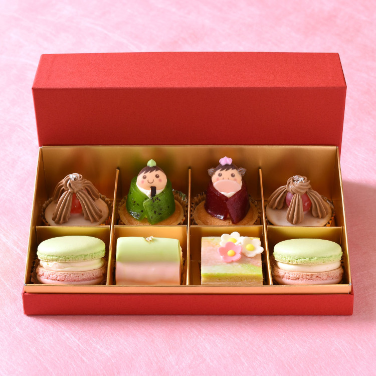 petit fours of Doll's Festival