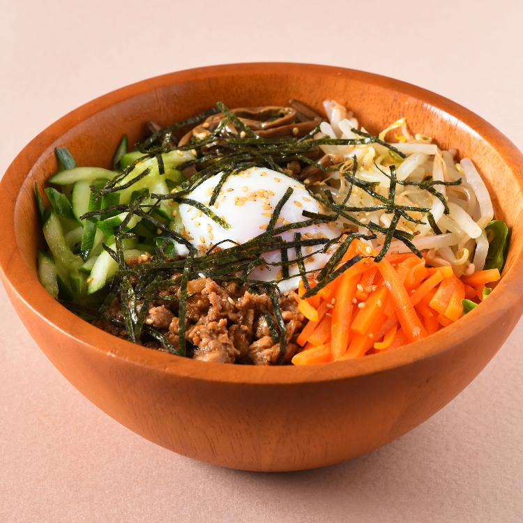 Bibimbap salad ball