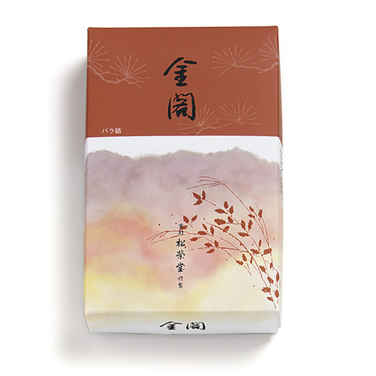 京线香/金阁(散装)<br /> 白檀的清爽香气。