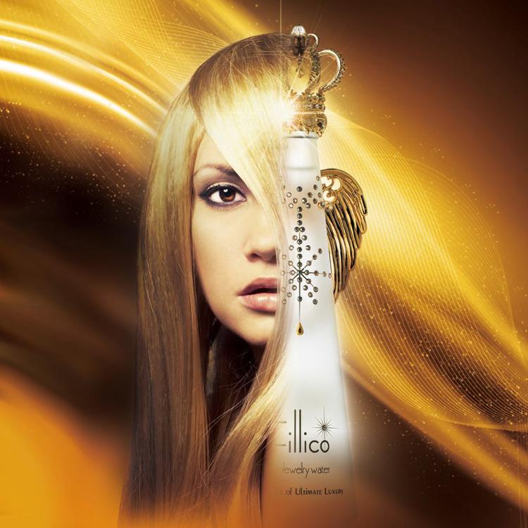 <フィリコ ジュエリーウォーター> フィリコ プリモ 「最初」「最高級」の意味を持つ、ゴールドを基調としたデザイン。 made in japan