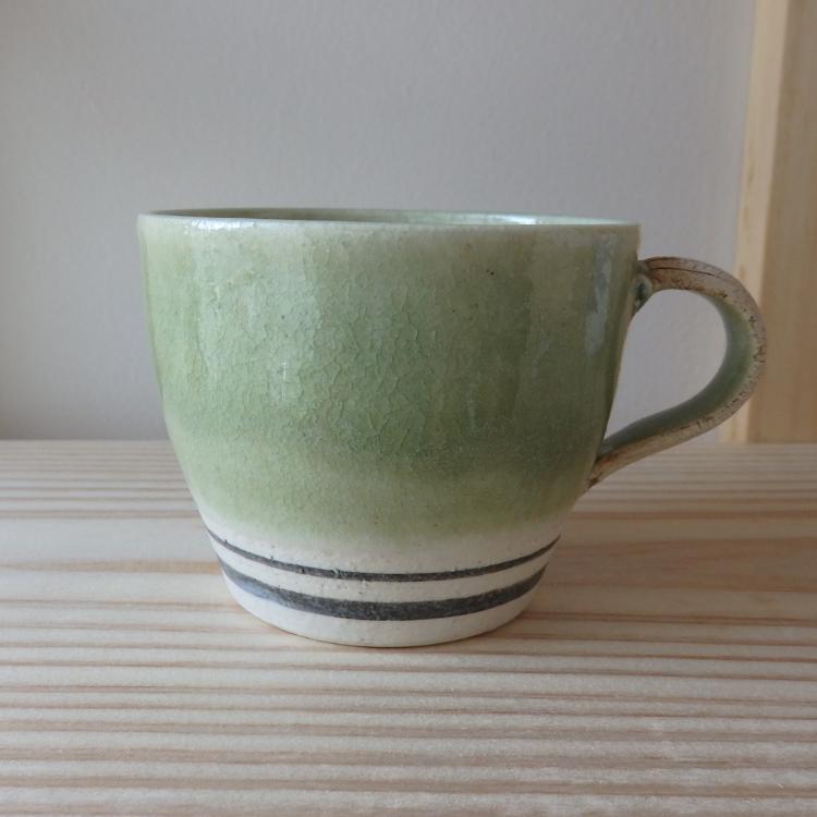 茨城县笠间市河野陶房的马克杯