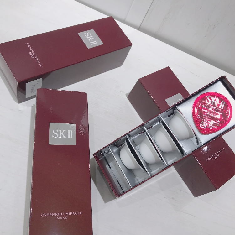 SK-Ⅱ Overnight Miracle Mask is on sale at SNS!<br />