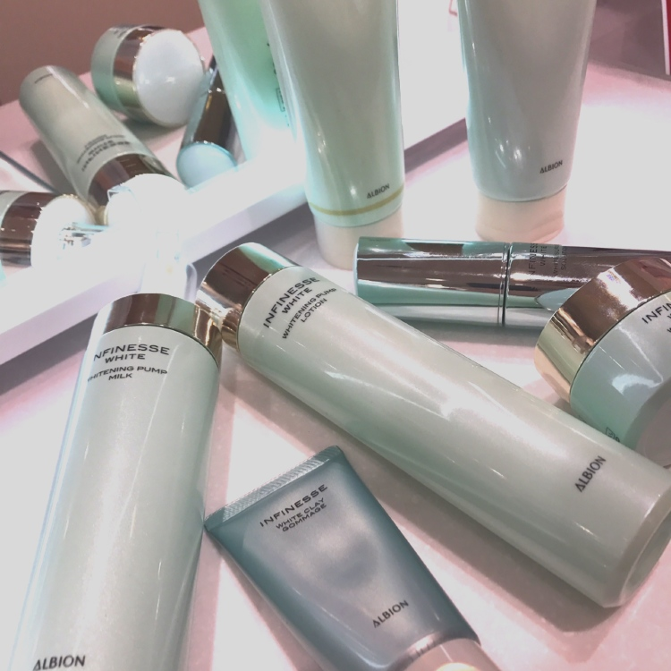 ALBION INFINESSE WHITE March 18 DEBUT<br />