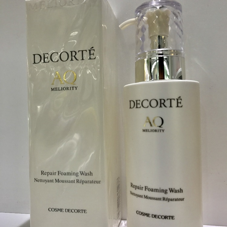 DECORTE AQ MELIORITY  Repair Foaming Wash<br />