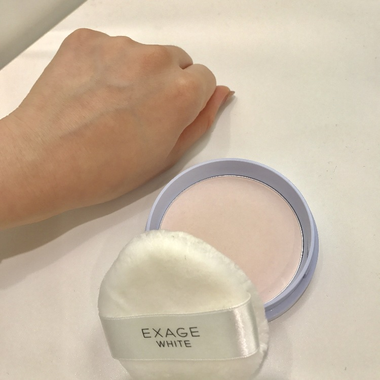 EXAGE WHITE Whitening powder powers up!