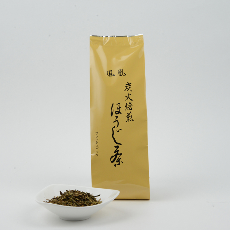 """Houou"" charcoal roasted by hand  hojicha"