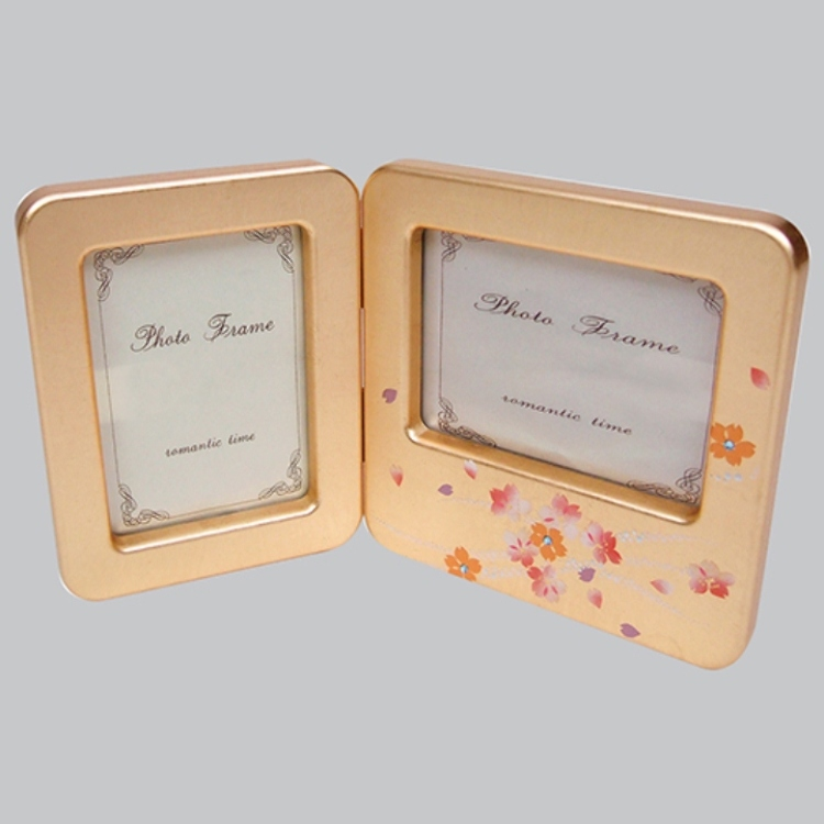 "Japanese traditional crafts, Kanazawa Gold leaf, ""Hakuichi Kirari Double Picture Frame"""