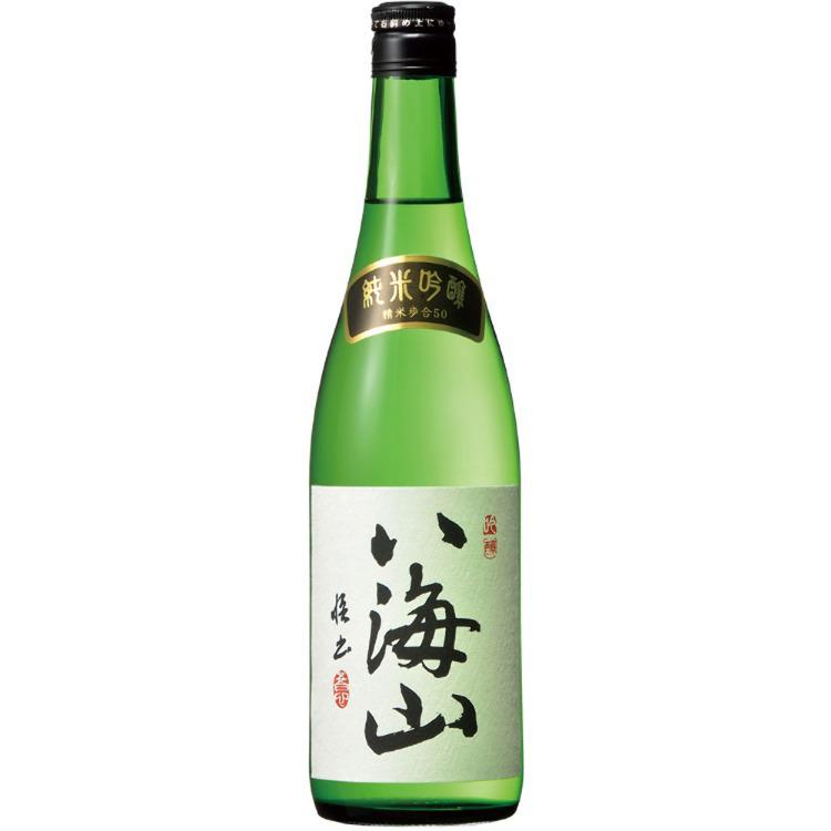 「八海山」純米吟釀 (創業於1922年的日本酒酒坊的人氣美酒)