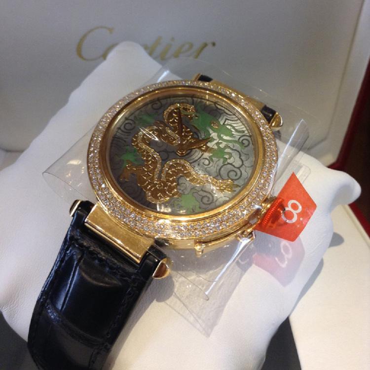 Cartier 18K/750Gold Pasha 25 world limited