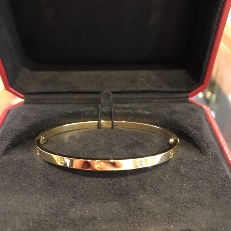 Cartier Love bracelet 750 Yellow Gold