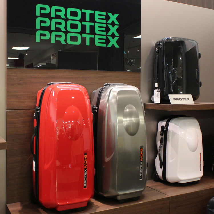 PROTEX Racing Series: Pro racer-style travel bags