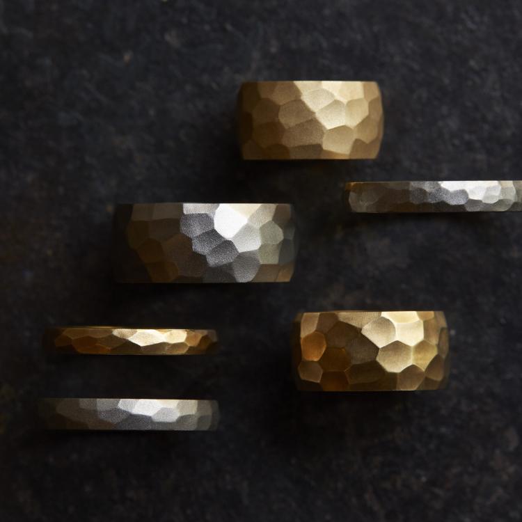 Cut Ring 每件饰品均为匠人亲手打造 可委托改变戒指尺寸