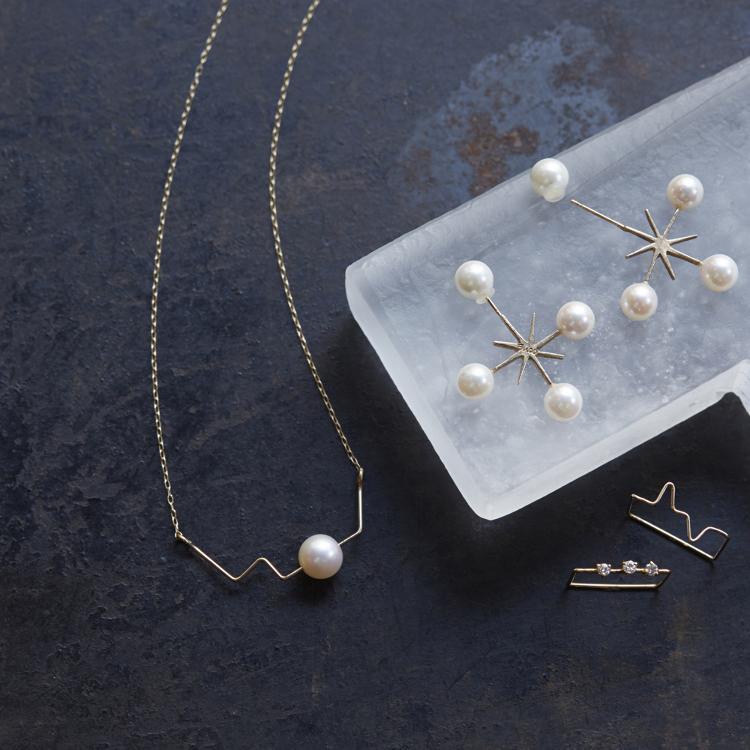 Euco<br /> 使用美丽Akoya珍珠制成的珠宝